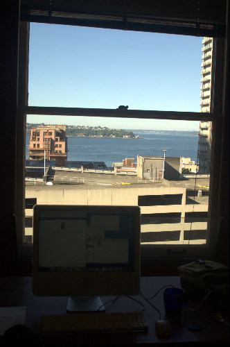 Puget Sound from my office